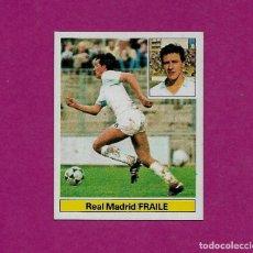 Cromos de Fútbol: FICHAJE 10 BAJA FRAILE REAL MADRID ESTE 1981 1982 LIGA 81 82 CROMO NUEVO SIN PEGAR NUNCA PEGADO. Lote 105056503