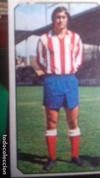 ÚLTIMO FICHAJE SIERRA AT. MADRID ESTE 77 78 DESPEGADO (Coleccionismo Deportivo - Álbumes y Cromos de Deportes - Cromos de Fútbol)