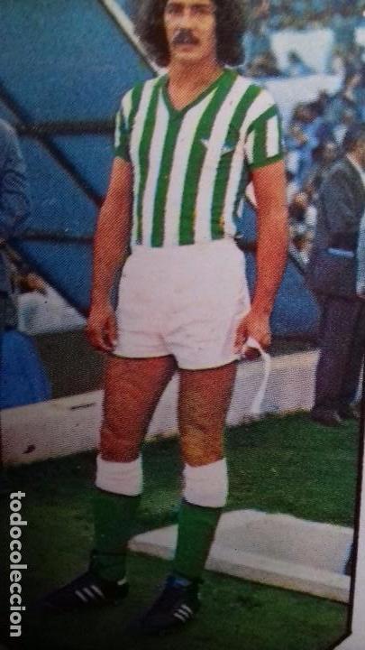 EDICIONES ESTE 1977 1978 - 77 78 - MEGIDO - REAL BETIS. DESPEGADO (Coleccionismo Deportivo - Álbumes y Cromos de Deportes - Cromos de Fútbol)