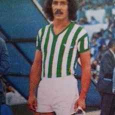 Cromos de Fútbol: EDICIONES ESTE 1977 1978 - 77 78 - MEGIDO - REAL BETIS. DESPEGADO. Lote 105389091