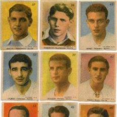 Cromos de Fútbol: SEVILLA 1944, DE LA EDITORIAL SANCHEZ ROMAN, COMPLETO 18 CROMOS. Lote 105583879
