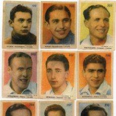 Cromos de Fútbol: CORUÑA 1944, DE LA EDITORIAL SANCHEZ ROMAN, COMPLETO 18 CROMOS. Lote 105600159