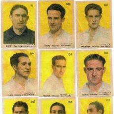 Cromos de Fútbol: REAL MADRID 1944, DE LA EDITORIAL SANCHEZ ROMAN, 17 CROMOS FALTA EL Nº 90. Lote 105600543