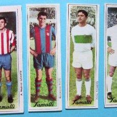 Cromos de Fútbol: LOTE DE CROMOS. CROMOS SUELTOS; 3,00 €. FÚTBOL. CHOCOLATES CHOCOLATE SAMALLI, 1966.. Lote 131918793