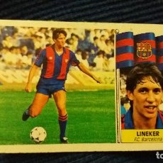 Cromos de Fútbol: 86/87 ESTE. FICHAJE 20 BIS BARCELONA LINEKER . Lote 106103431