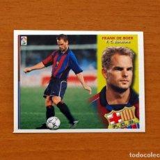 Cromos de Fútbol: BARCELONA - FRANK DE BOER - EDICIONES ESTE 2002-2003, 02-03 - NUNCA PEGADO. Lote 106217555