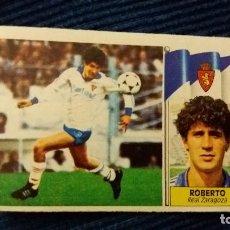 Cromos de Fútbol: 86/87 ESTE. COLOCA REAL ZARAGOZA ROBERTO . Lote 106491807