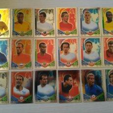 Cromos de Fútbol: LOTE 18 JUGADOR ESTRELLA TOPPS MATCH ATTAX MUNDIAL SUDAFRICA WORLD CUP 2010. Lote 106572607