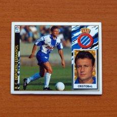 Cromos de Fútbol: R.C.D. ESPAÑOL - CRISTÓBAL - EDICIONES ESTE 1997-1998, 97-98 - NUNCA PEGADO. Lote 106895047