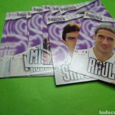 Cromos de Fútbol: LOTE 13 CROMOS TRADING CARDS PANINI LIGA 96 - 97 REAL MADRID TRAYECTORIA. Lote 106963778