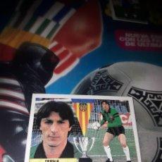 Cromos de Fútbol: SERNA BAJA DEL VALENCIA LIGA 1987-88 DE ESTE ,SIN PEGAR. Lote 107044135