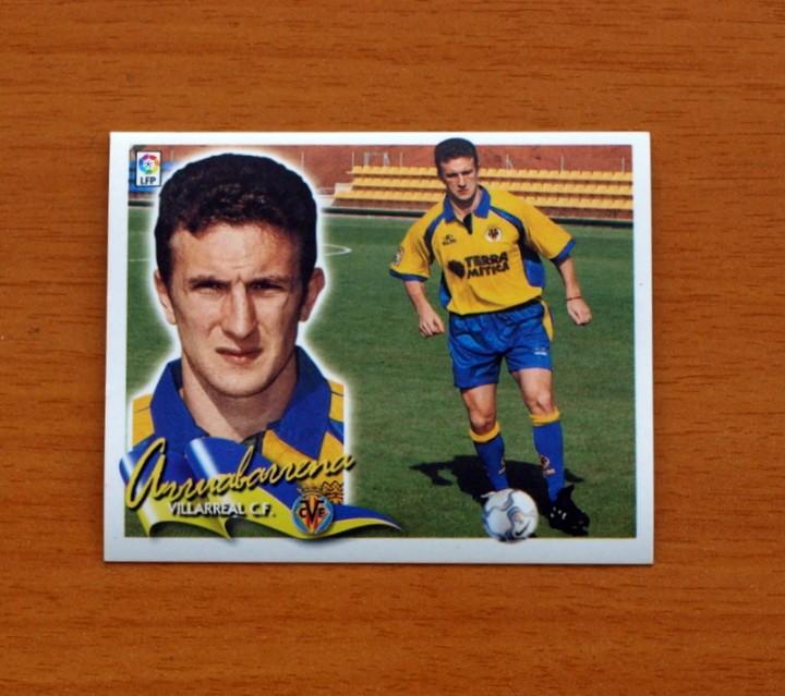VILLARREAL - ARRUABARRENA - COLOCA - EDICIONES ESTE 2000-2001, 00-01 - NUNCA PEGADO (Coleccionismo Deportivo - Álbumes y Cromos de Deportes - Cromos de Fútbol)