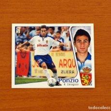 Cromos de Fútbol: ZARAGOZA - PONZIO - EDICIONES ESTE 2004-2005, 04-05 - NUNCA PEGADO. Lote 107085975