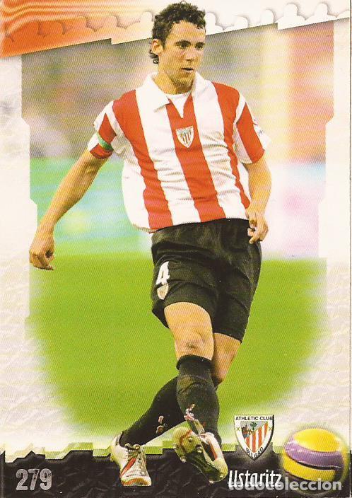 2008-2009 - 279 USTARITZ - ATHLETIC DE BILBAO - MUNDICROMO LAS FICHAS DE LA LIGA (Coleccionismo Deportivo - Álbumes y Cromos de Deportes - Cromos de Fútbol)