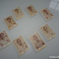 Cromos de Fútbol: ANTIGUO LOTE DE 8 CROMOS VALENCIA C. F. DEL ALBUM EDITORIAL ARGA 1953-1954, 53-54. Lote 107318595