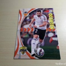 Cromos de Fútbol: MEGACRACKS 2015 2016 15 16 PANINI. NEGREDO Nº 506 (VALENCIA) CROMO LIGA FÚTBOL MEGA CRACKS. Lote 119100364