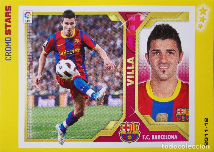30 David Villa F C Barcelona 2011 2012 Cro Buy Old Football Stickers At Todocoleccion 107778531