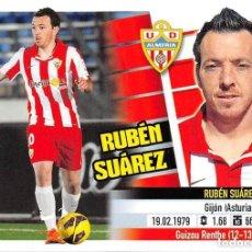 Cromos de Fútbol: 14 A RUBEN SUAREZ ALMERIA ESTE 13/14. Lote 107913347