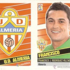 Cromos de Fútbol: 1 ESCUDO/ENTRENADOR ALMERIA ESTE 13/14. Lote 107913959