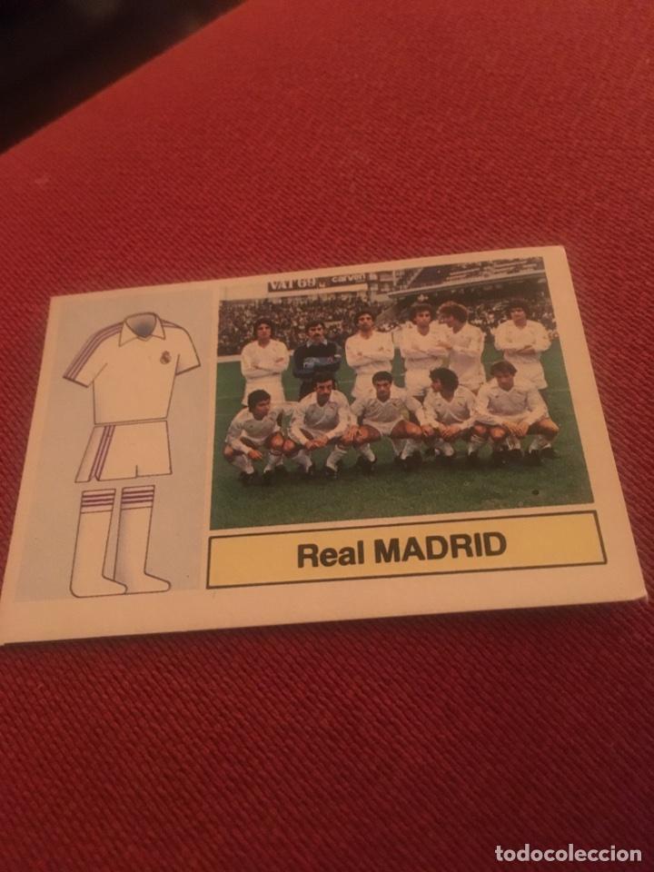 Cromos de Fútbol: Alineación real madrid 82 83 este 82 83 - Foto 2 - 108348816
