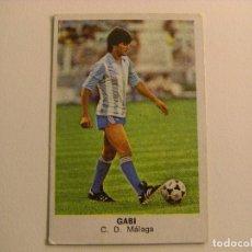 Cromos de Fútbol: FICHAJE Nº2 GABI MALAGA CROPAN CROMOS CANO FUTBOL 83 84 DIFICIL CROMO SIN PEGAR NO ESTE . Lote 108361167