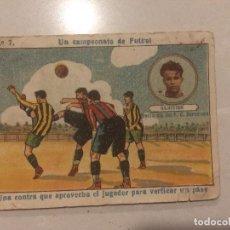 Cromos de Fútbol: CROMO - UN CAMPEONATO DE FUTBOL - SAMITIER Nº 7. Lote 108362819