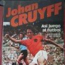 Cromos de Fútbol: JOHAN CRUIFF ASI JUEGO AL FUTBOL. LOTE DE 45 CROMOS. TAMBIEN SUELTOS. Lote 108414931