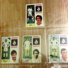 Cromos de Fútbol: EDICIONES FHER 1974-75 REAL MADRID BENITO SANTILLANA VELAZQUEZ MACANAS. Lote 108755691