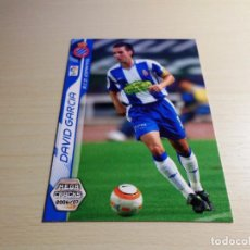 Cromos de Fútbol: MEGACRACKS 2006 2007 06 07 PANINI. DAVID GARCÍA Nº 115 (ESPANYOL) CROMO LIGA FÚTBOL MEGA CRACKS. Lote 119874312