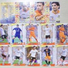 Figurine di Calcio: 14 FICHAS DISTINTAS VALENCIA CF MUNDICROMO 2013 2014 13 14. Lote 109104423