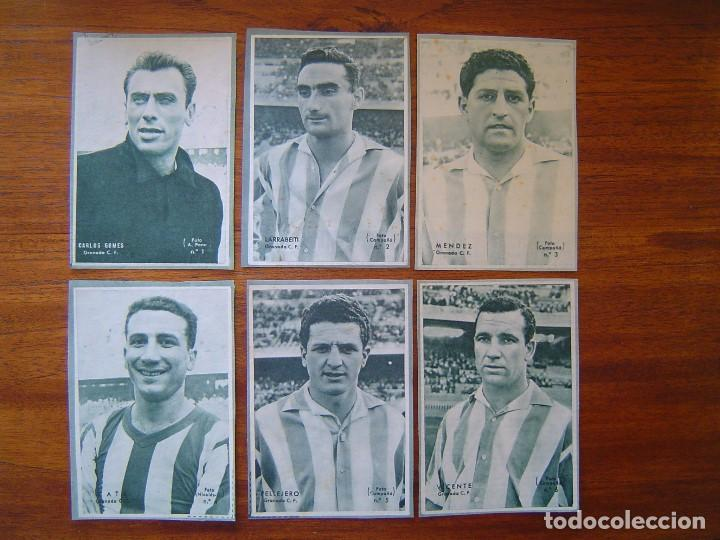 GRANADA C.F. - 10 CROMOS DIFERENTES DICEN 1958 - 1959 ( 58 /59 ), VER LISTADO (Coleccionismo Deportivo - Álbumes y Cromos de Deportes - Cromos de Fútbol)