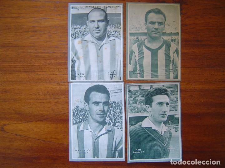 Cromos de Fútbol: GRANADA C.F. - 10 cromos diferentes DICEN 1958 - 1959 ( 58 /59 ), ver listado - Foto 2 - 109157339