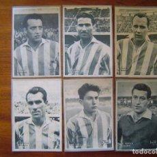 Cromos de Fútbol: REAL VALLADOLID - 6 CROMOS DIFERENTES DICEN 1958 - 1959 ( 58 /59 ), VER LISTADO. Lote 109158039