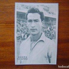 Cromos de Fútbol: MUGICA ( U.D. LAS PALMAS ) - PERIODICO DICEN 1958 - 1959 ( 58 /59 ). Lote 109158703