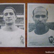 Cromos de Fútbol: OLIVA Y BERMUDEZ ( REAL JAEN ) - PERIODICO DICEN 1958 - 1959 ( 58 /59 ). Lote 109159111