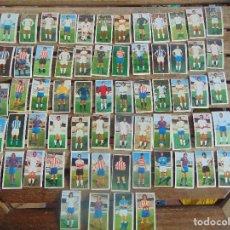 Cromos de Fútbol: LOTE DE 65 CROMOS DE EDITORIAL ESTE TEMPORADA 75 76 1975 1976 SIN PEGAR FUTBOL. Lote 109362843