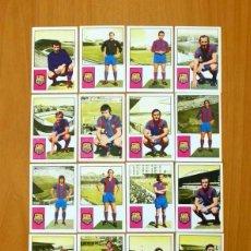 Cromos de Fútbol: BARCELONA - 16 CROMOS - EDITORIAL FHER 1974-1975, 74-75 - CON CRUYFF. Lote 109392711