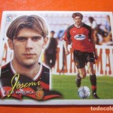 Cromos de Fútbol: JOSEMI COLOCA ALBUM LIGA ESTE 2000 2001 00 01 CROMO DESPEGADO MIRAR FOTOGRAFIAS. Lote 109400523