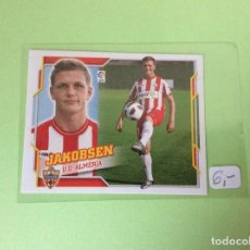 Cromos de Fútbol: ESTE - 2010-2011 - ALMERIA - JAKOBSEN - Nº 5. Lote 109430863