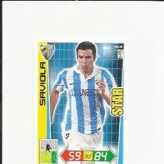 Cromos de Fútbol: 213 SAVIOLA MALAGA STAR ADRENALYN 12/13. Lote 109850971