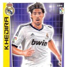 Cromos de Fútbol: 189 HHEDIRA REAL MADRID ADRENALYN 12/13. Lote 109851983
