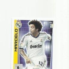 Cromos de Fútbol: 186 MARCELO REAL MADRID ADRENALYN 12/13. Lote 109854079