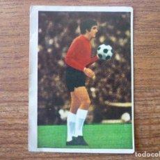 Cromos de Fútbol: FHER DISGRA LIGA 1975 1976 GARCIA REMON (REAL MADRID) NUNCA PEGADO - CROMO 75 76. Lote 109917943