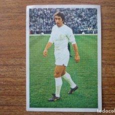 Cromos de Fútbol: FHER DISGRA LIGA 1975 1976 VELAZQUEZ (REAL MADRID) NUNCA PEGADO - CROMO 75 76. Lote 109930691