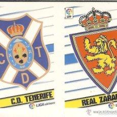 Cromos de Fútbol: 12 ESCUDO 2ª DISION ESTE 13/14. Lote 110374303