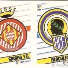 Cromos de Fútbol: 4 ESCUDOS 2ª DIVISION ESTE 13/14. Lote 110375459