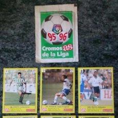 Cromos de Fútbol: 6 CROMOS DE LA LIGA FÚTBOL COLECCIÓN AS . Lote 110447219