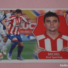 Cromos de Fútbol: CROMO DE FÚTBOL MICHAEL DEL SPORTING DE GIJÓN SIN PEGAR LIGA ESTE 2008-2009/08-09. Lote 110451859