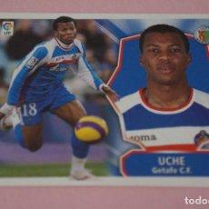 Cromos de Fútbol: CROMO DE FÚTBOL UCHE DEL GETAFE C.F. SIN PEGAR LIGA ESTE 2008-2009/08-09. Lote 110453787
