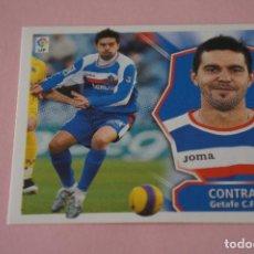 Cromos de Fútbol: CROMO DE FÚTBOL CONTRA DEL GETAFE C.F. SIN PEGAR LIGA ESTE 2008-2009/08-09. Lote 110454327